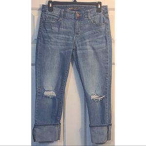 Arizona Juniors low rise cropped pants